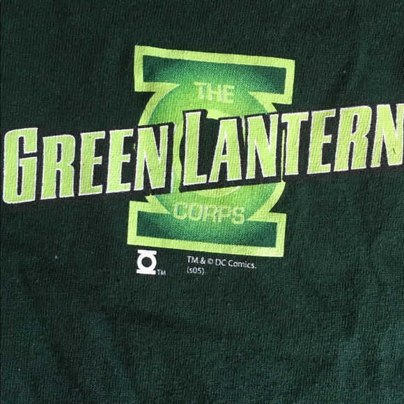DC Comics Other - Vtg DC Green Lantern T shirt M Graphitti